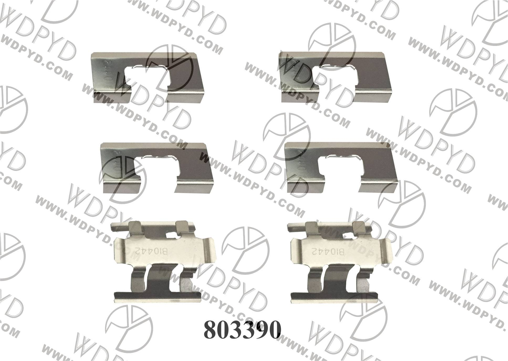 2015 hot  sales  Wellde Disc Brake pad Clip 803390
