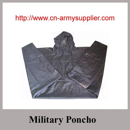 Camouflage Nylon Oxford Polyester Army Military Poncho
