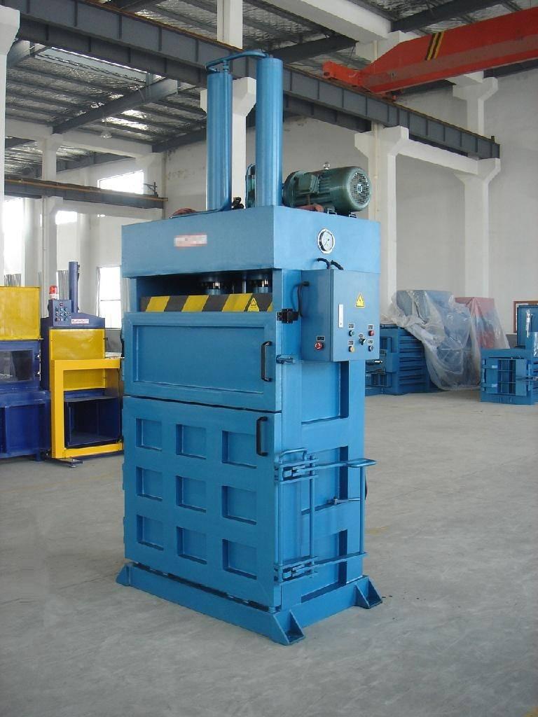 Waste paper baling machine plastic machinery
