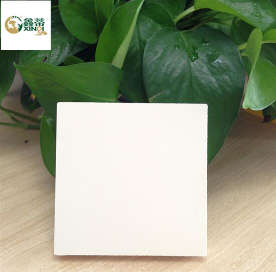 0.7g/cm3 desnity pvc foam board white color