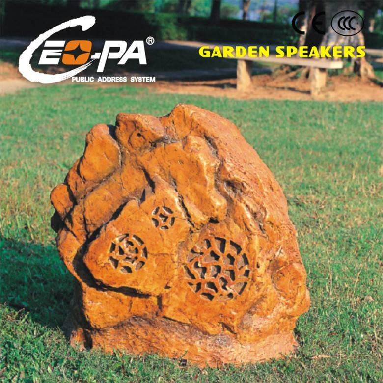 PA System High Power Rock Shape Garden Speaker