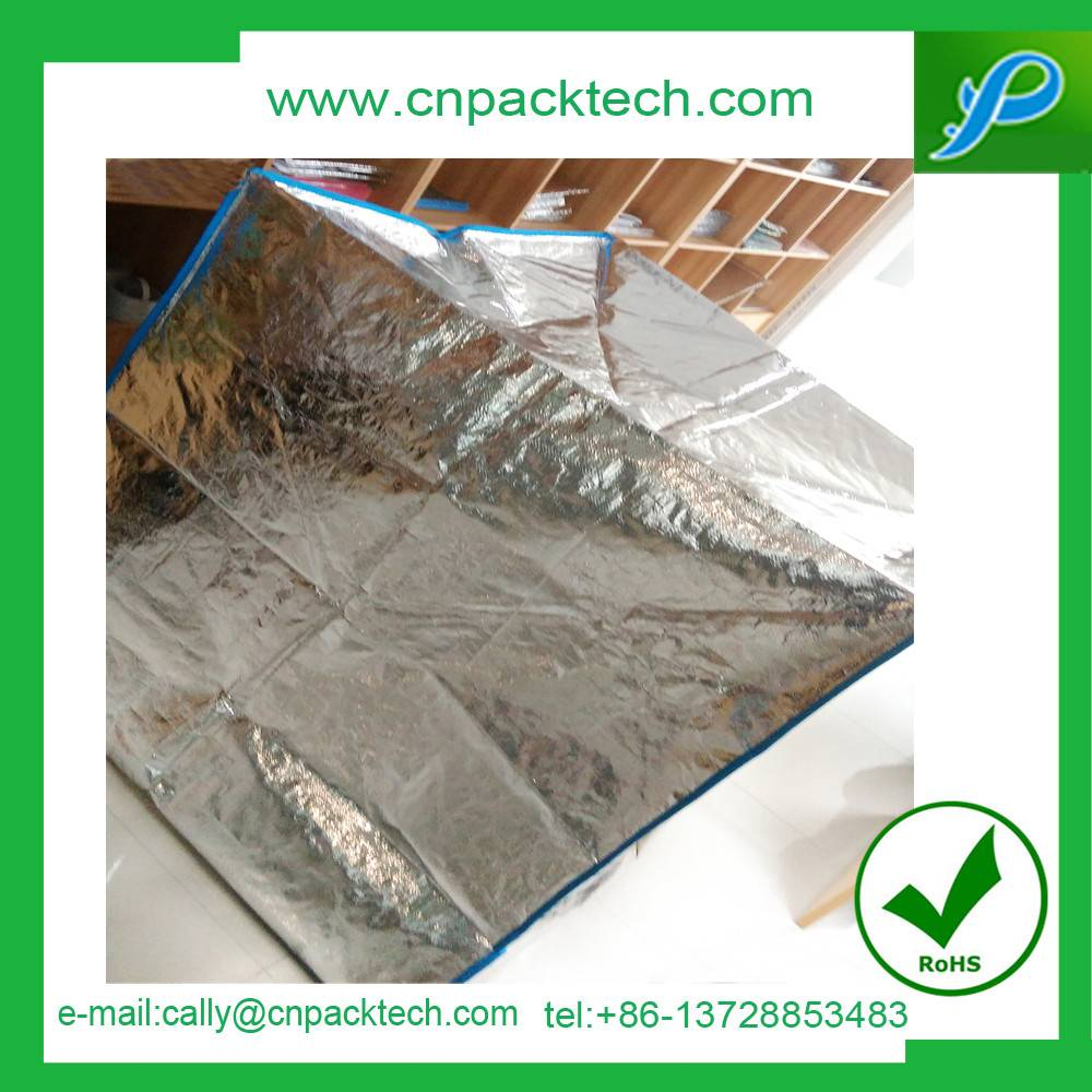 bubble foil thermal insulaiton shipping packaging insulated pallet cover