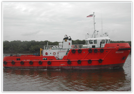 400KL self propelled oil barge Malaysia