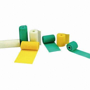 Excellent air permeability fiberglass casting tapes, made of fiberglass fabric or polyester fabric