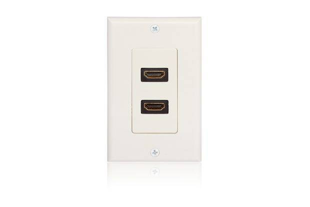 HDMI Wall Plate---Double Ports