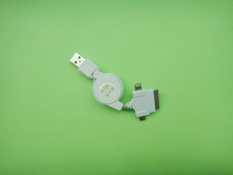 3-in-1 Retractable Data Cables GYS-073