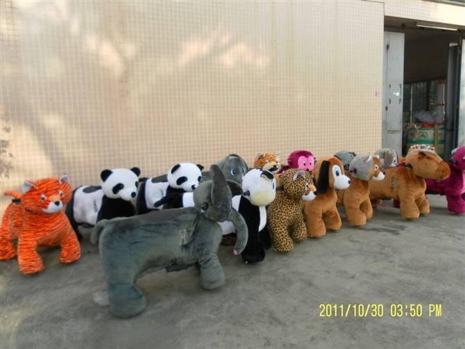 china cheap kiddie ride, coin operated walking animal