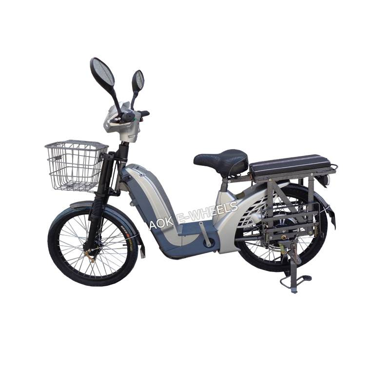350W/450W Brushless Motor Electric Moped, Electric Bike with Pedal (EB-013B)