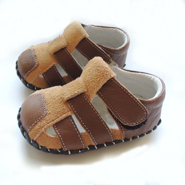 Fashion summer baby sandals flat sandals for baby soft leather infant toddler
