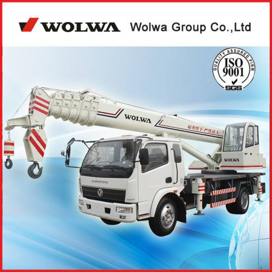 wolwa group 10 ton truck crane for sale