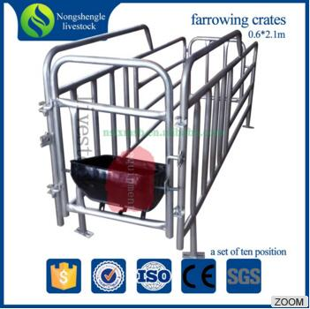 New Design agriculture farming swine pig farrowing crate