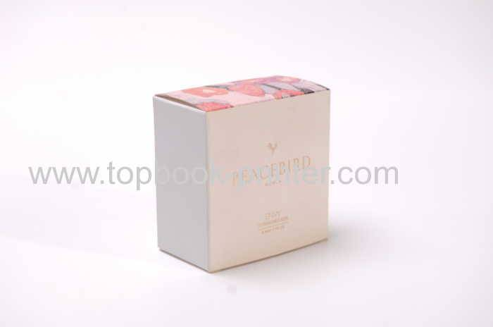 Color-printed custom-design/size grey board/ivory board cosmetic packaging box