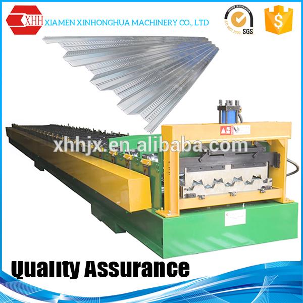 Decking forming machine floor tile making machine price