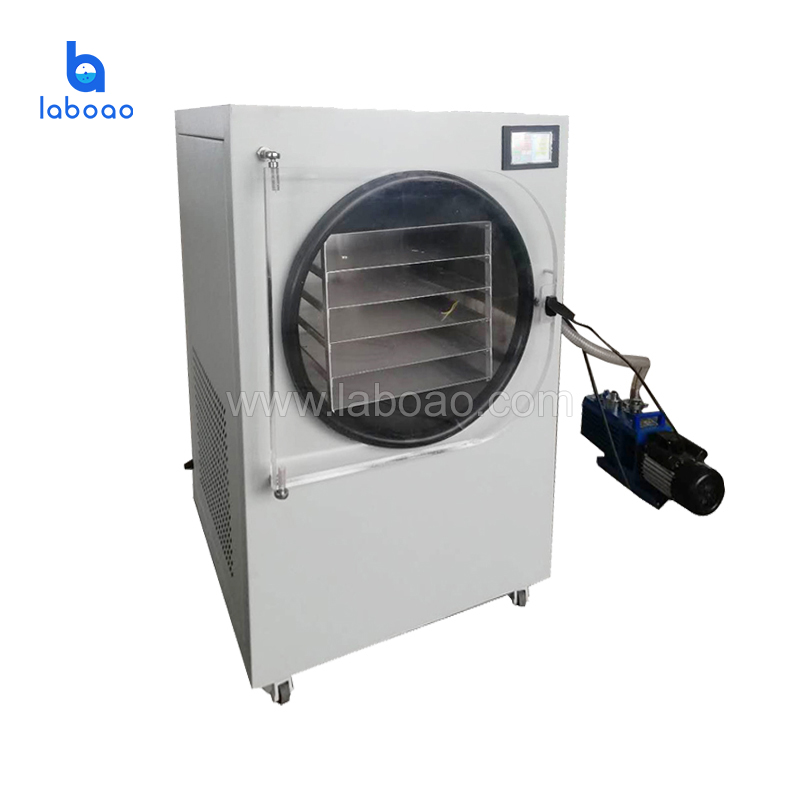 7-8kg large size food vacuum freeze dryer for home laboratory