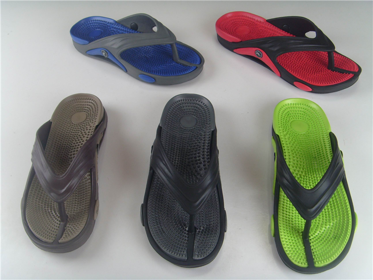 Cheap wholesale summer new design custom eva flip flops men beach