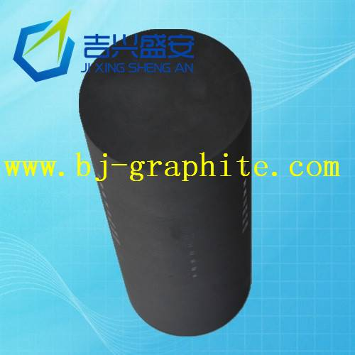 Graphite electrode forming extrusion