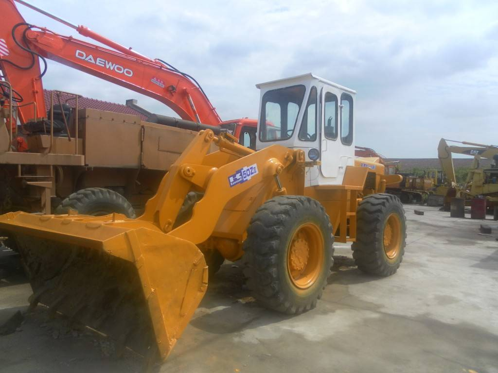 USED KAWASAKI WHEEL LOADER 50Z-3