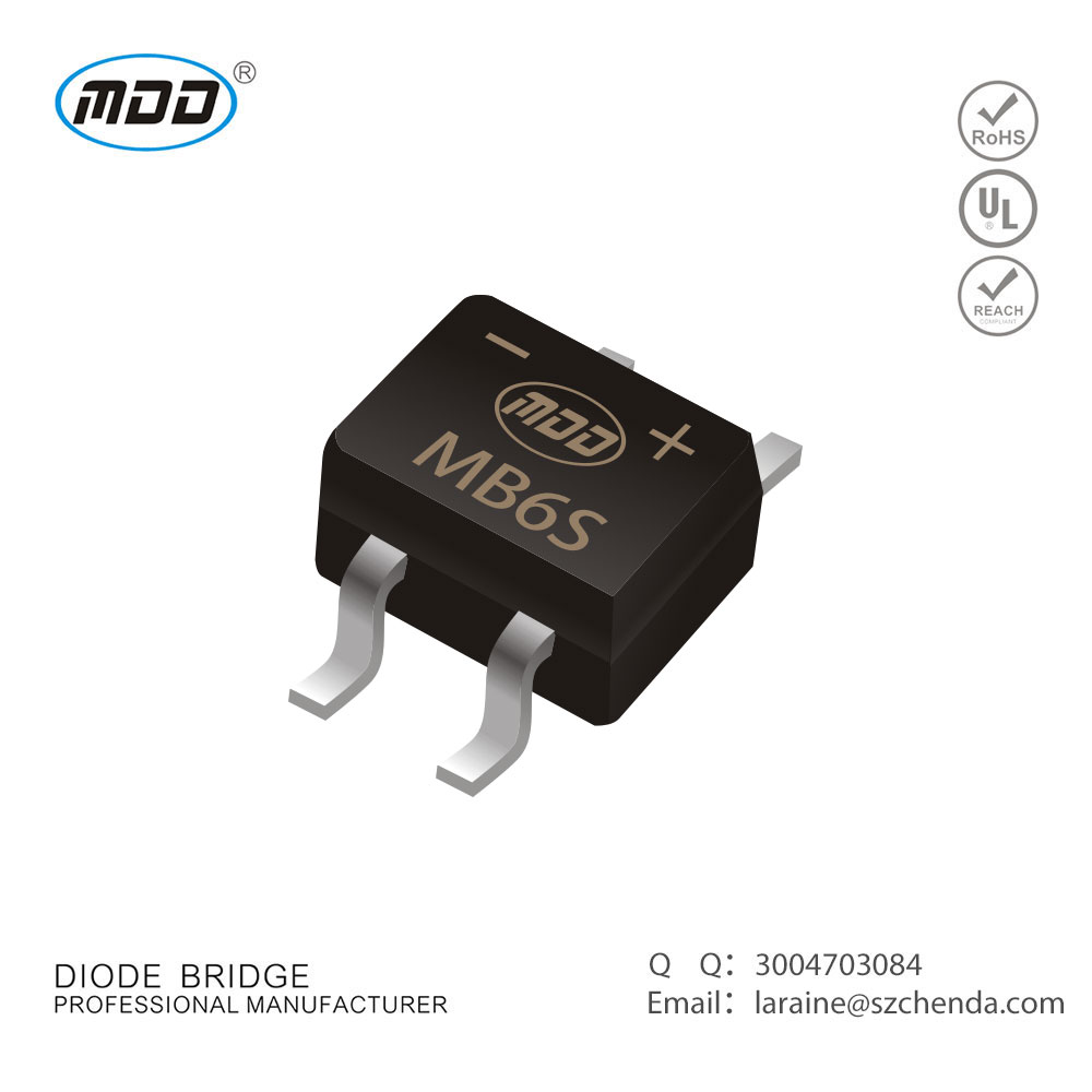 Factory Outlet Diode Bridge Recitifier MB6S