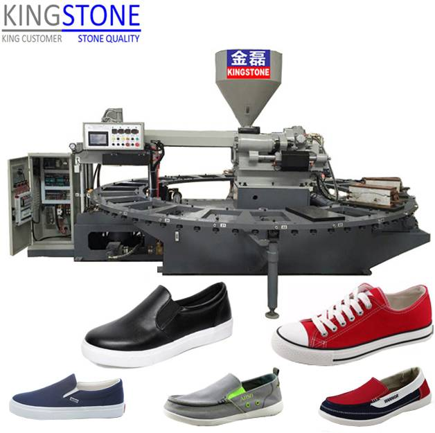 Full-automatic Canvas Shoes Making Machine