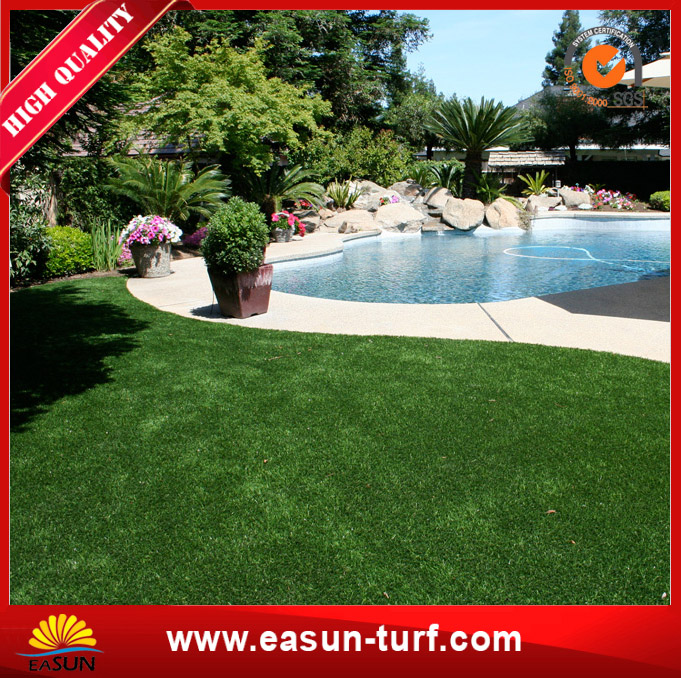 Economical Grass Synthetic Turf Green for Garden Landscaping-MY