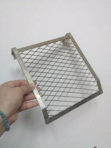 5 gallon metal bucket grid 4 sided