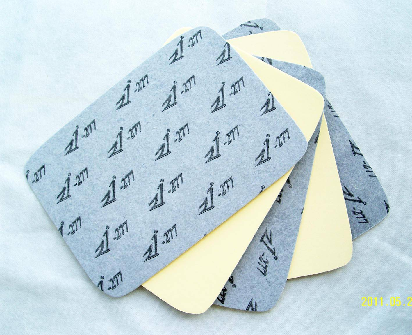 JZ277# Nonwoven Insole Coated With 2# Yellow EVA