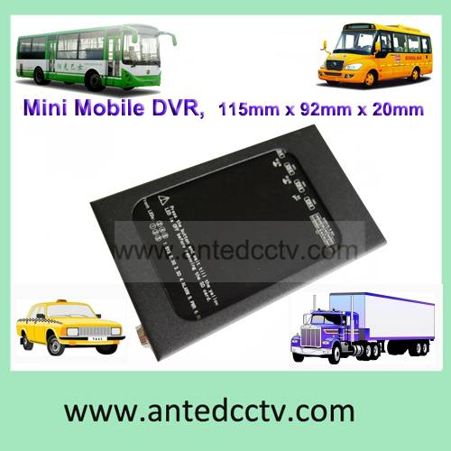 Real HD 4CH 3G Vehicle 1080P Mobile DVR for Vehicle Bus with WIFI G-Sensor GPS