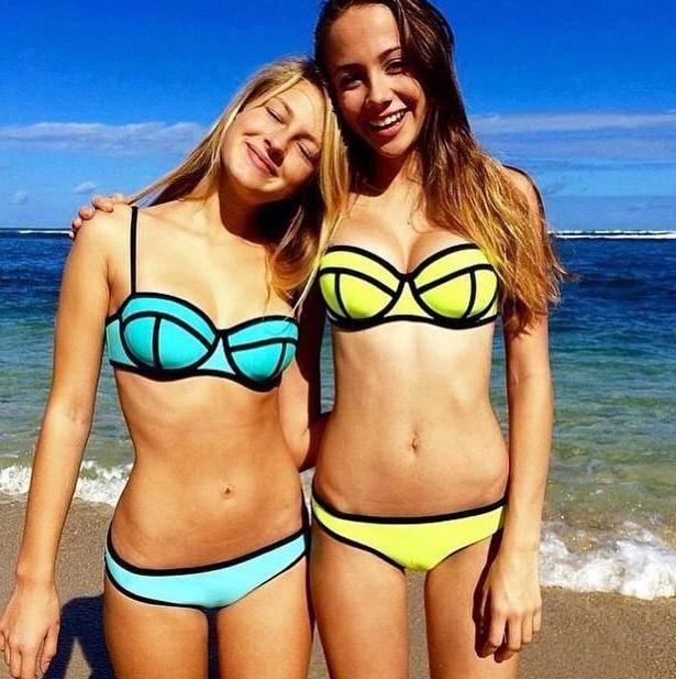 Newest Hot sexy Neoprene bikini swimwear