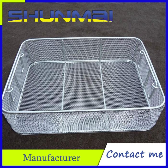 Medical sterilization basket/Stainless steel sterilizing basket