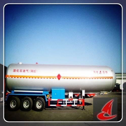 52000L/13500gallon LPG tanker,Liquid gas, semi trailer truck