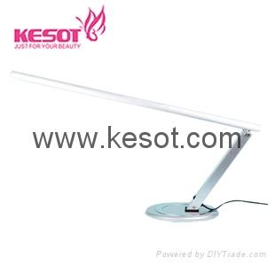 slimline nail table lamp with  base