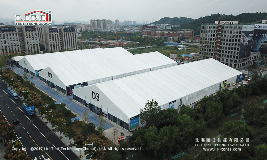 Aluminum Big Tent for Temporary Trade Show, Big Exhibition Tent Hall for Sale