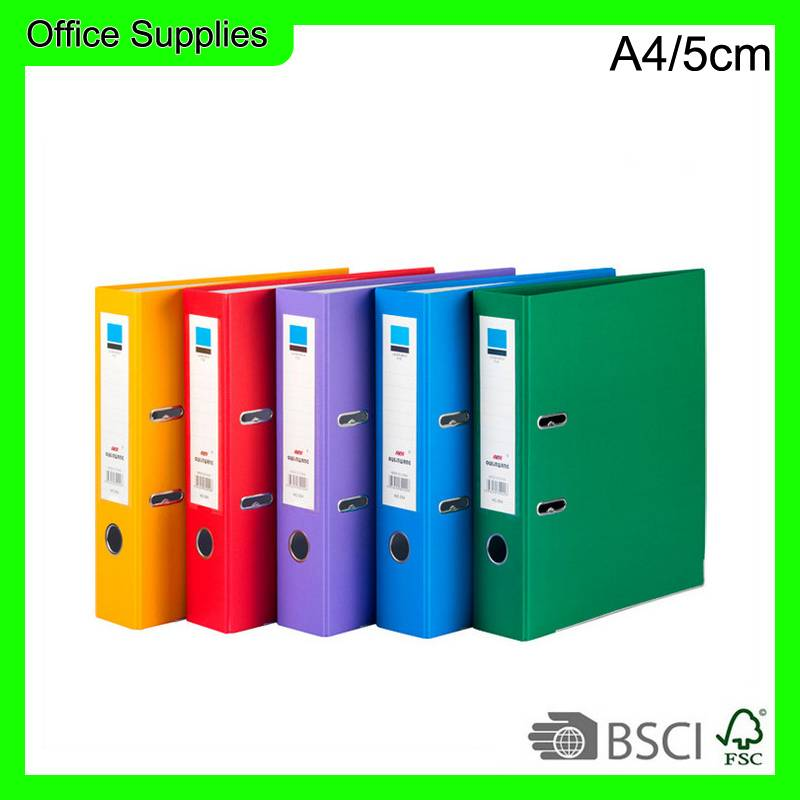 12 colors lever arch file box file size A4/FC