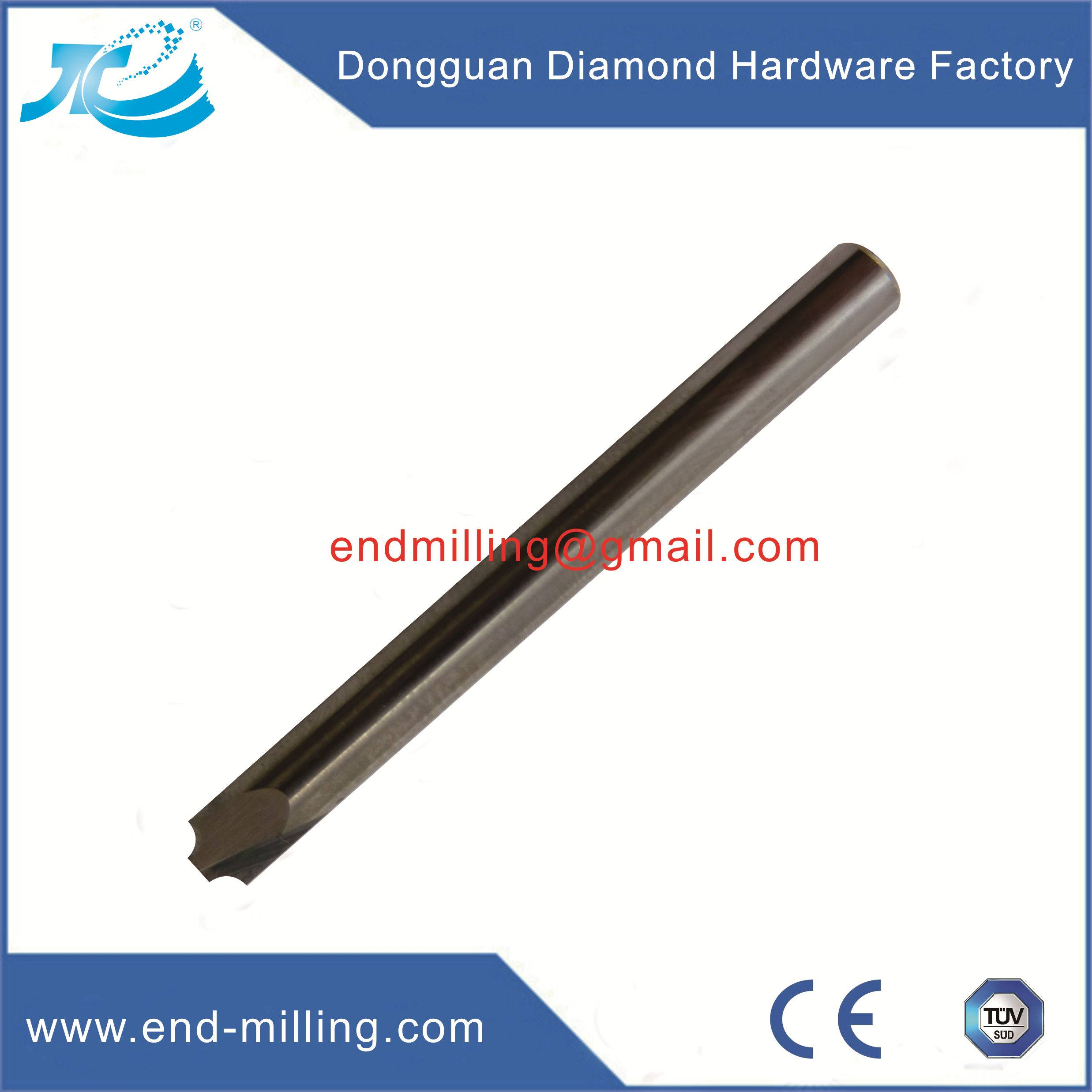 Solid Carbide Fillet End Mill
