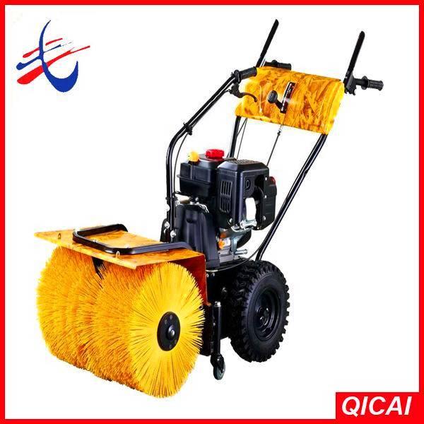 6.5hp gas snow sweeper,power broom sweeper