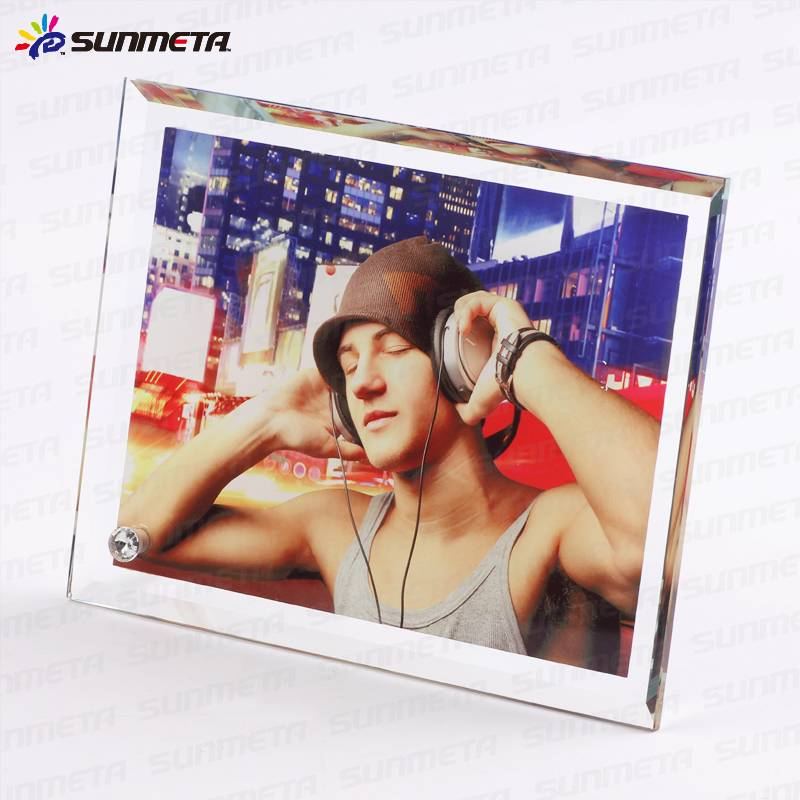 directly high quality blank sublimation glass photo frame