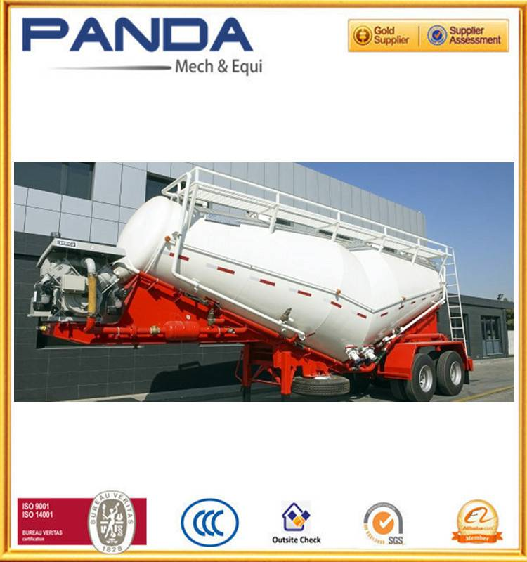 Pandamech cement bulker semi trailer