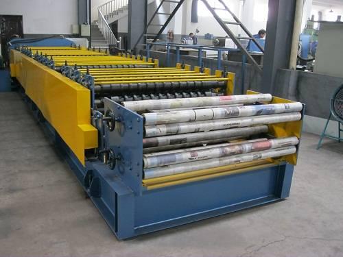 Sheet Roll Making Machine,Floor Deck Making Machine