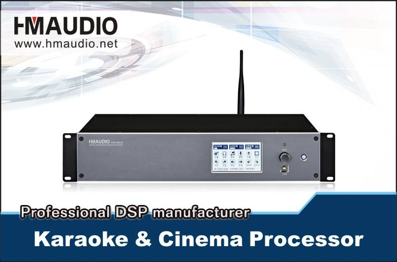 DSP-9800 Digital Karaoke&cinema Processor with Wifi, USB,RS232, 485