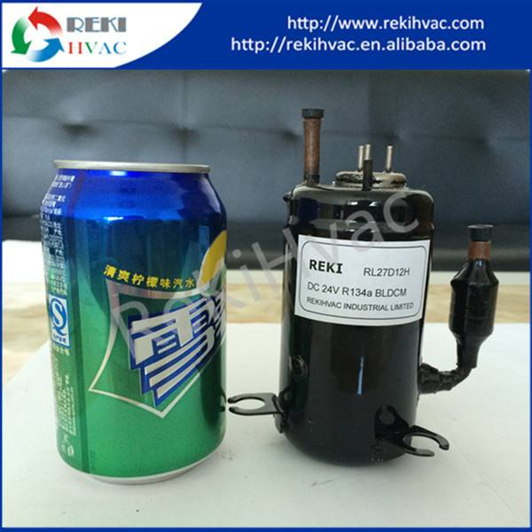 R134A Mini Freezer Compressor DC 48V Refrigeration Compressor RL20D48C