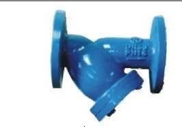 cast ductile iron valve,y-strainer valve,design:bs2080,bolt cover,