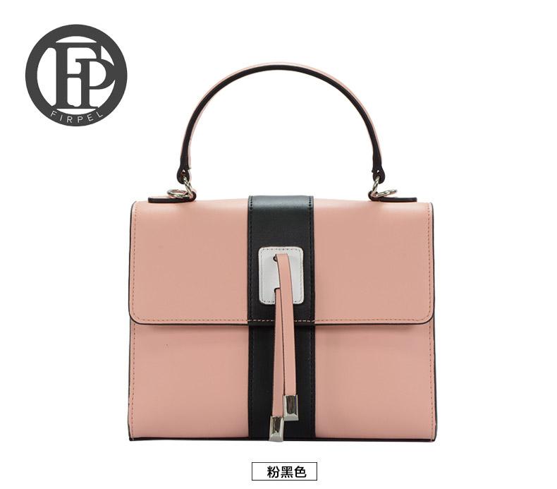 fashion ladies genuin leather handbag