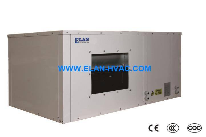 water source heat pump ,water to air ,package type,R410a,R407C,2.5kw~150kw