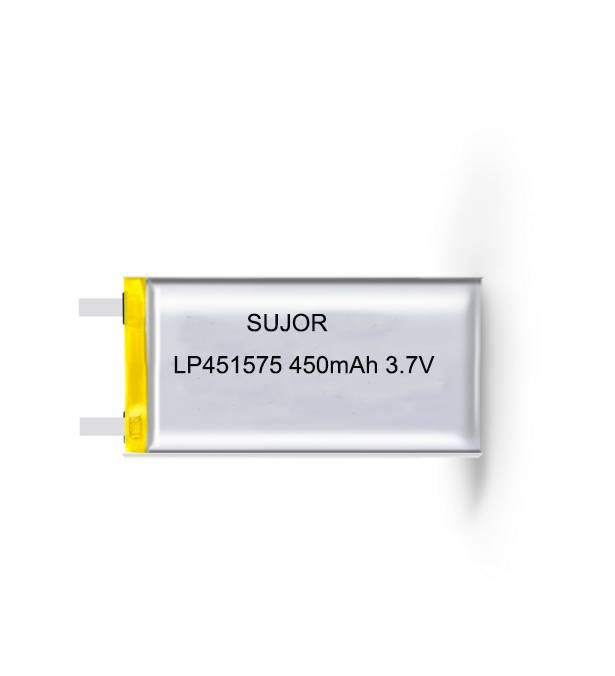 Lithium polymer battery for intelligent glasses 3.7V LP451575 450mAh