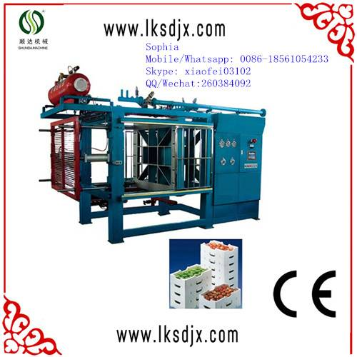ce approved eps vacuum forming machine