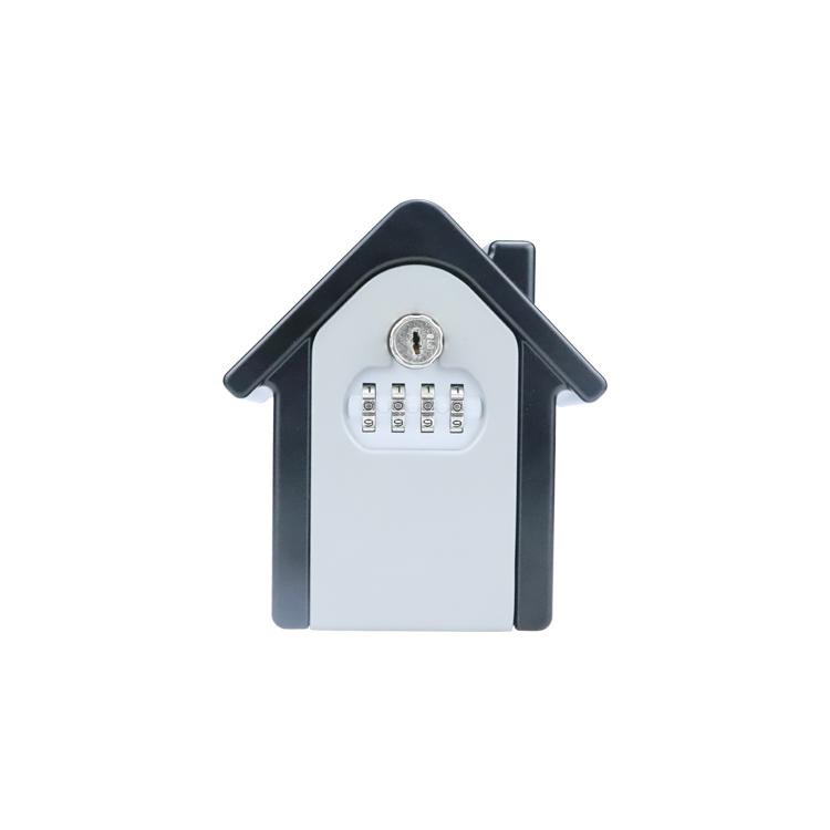 Wall Mount Combination Lock Security Storage Box With Key XMM-K035
