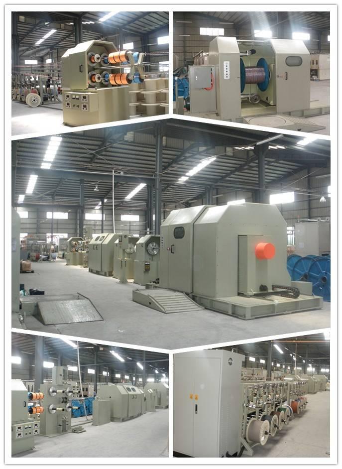 PE/PVC 1000cantilever Single Twisting Machine