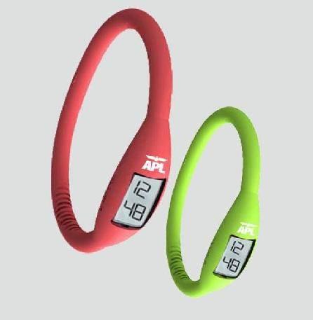 Silicone Wristband Watch/Sports Watch/Titanium Bracelet