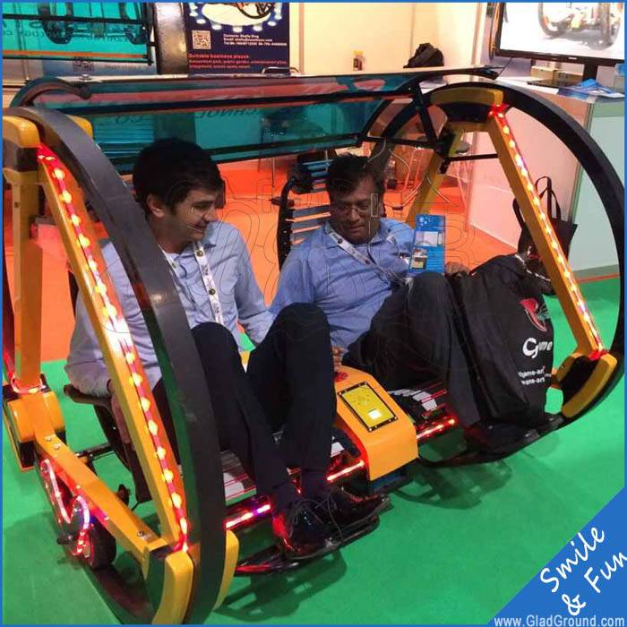 Balance car happy swing car 180w for 2 persons ridering with joystick