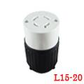 LK-7422 FNEMA L15-20C Locking Cord Connector
